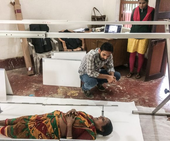 Studio in the Leprosy Welfare Centre in Sunderpur